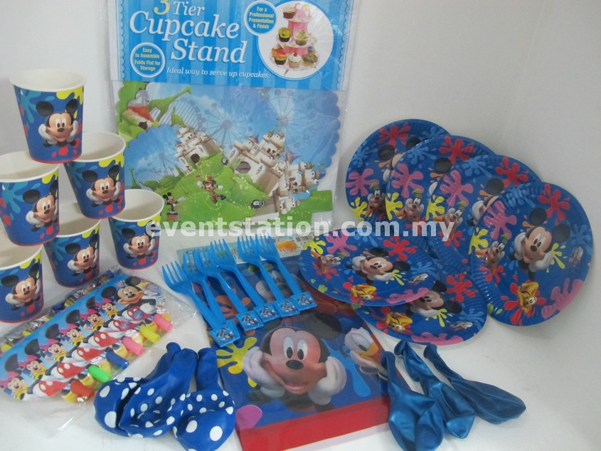 Mickey Party Set Of 6
